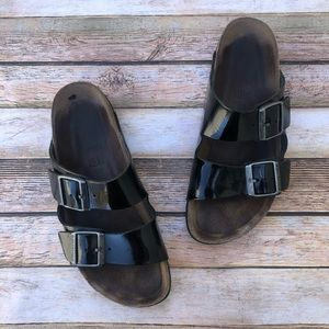 Birkenstock Arizona Patent Sandals